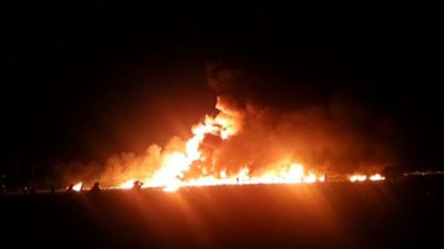 Fuel pipeline blaze in Mexico kills at least 20