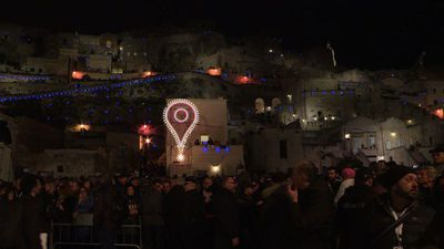 Italy's Matera in cultural limelight after slum 'shame'