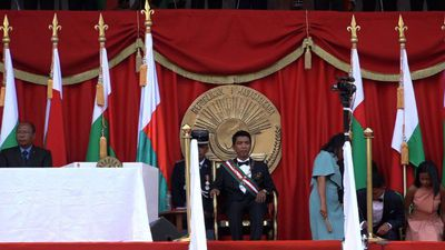 Madagascar's new president vows anti-graft fight