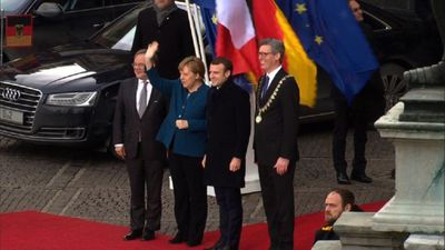 France, Germany meet for new treaty in Aachen
