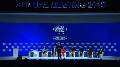 World Economic Forum 2019 opens in Davos
