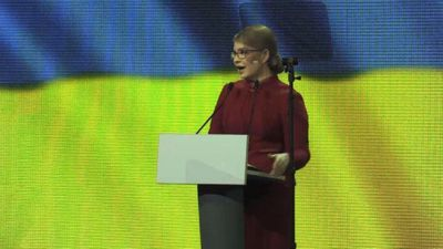 Ex-PM Tymoshenko launches bid for Ukraine presidency