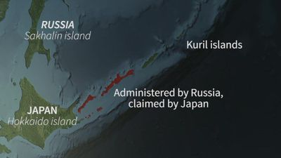 Japan Russia feud over Kuril islands