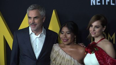 "REFILE: Premiere of Oscar favorite ""Roma"" in LA"