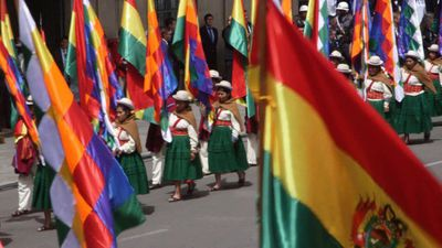 Bolivians celebrate Plurinational State Day