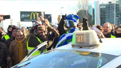 Taxi strike in Madrid enters its third day