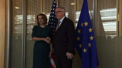 US House of Representatives speaker meets with EU's Juncker