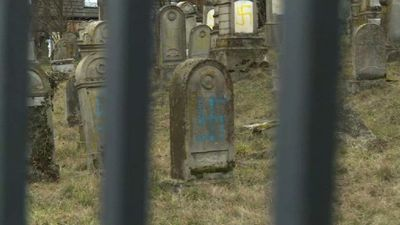 80 graves vandalised at French Jewish cemetery (2)