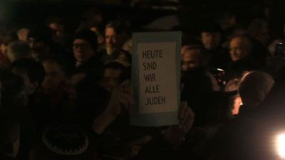 Hundreds protest against anti-Semitism in northern France