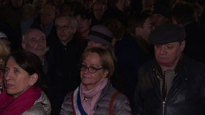 France: Rally held in Strasbourg following anti-Semitic attacks