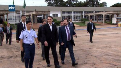 Brazil's Bolsonaro heads to the US to see Trump