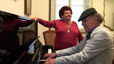 Retired musicians enjoy 'grand finale' at historic Verdi home