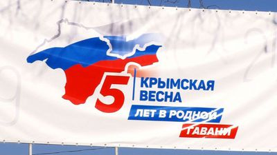 Russians in Crimea prepare to mark five years since annexation