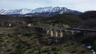 All aboard Italy's 'Trans-Siberian' railway