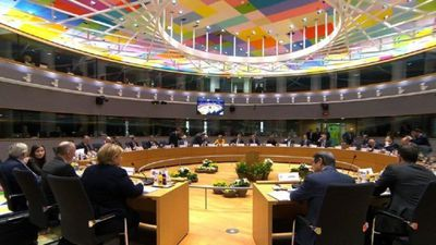 Roundtable of the EU Council summit in Brussels