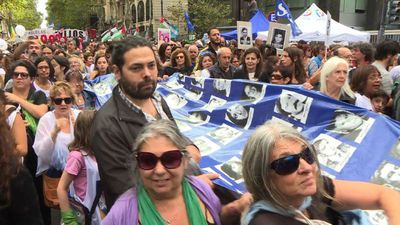 Argentinians remember military coup on its 43rd anniversary