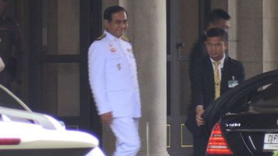 Thai Junta leader keeps low profile day after general election