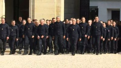Macron hails firefighters who battled Notre-Dame blaze