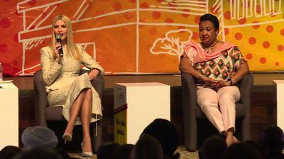 Ivanka Trump attends women's entrepreneurship summit in I. Coast