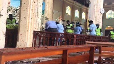 St Sebastian's church: A day after Sri Lanka explosions