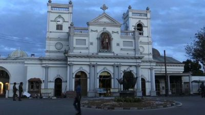 Sri Lanka: Day breaks at St Anthony's church