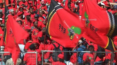 South Africa's radical leftist EFF prepare for final rally