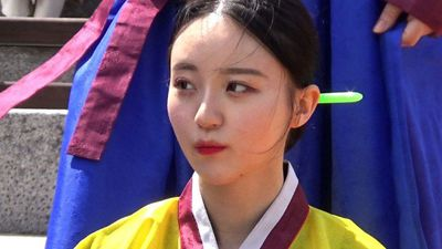 Traditional 'coming of age' ceremony takes place in Seoul