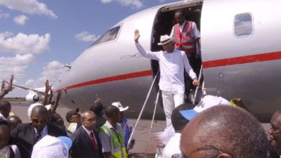 DR Congo political heavyweight Katumbi returns home from exile