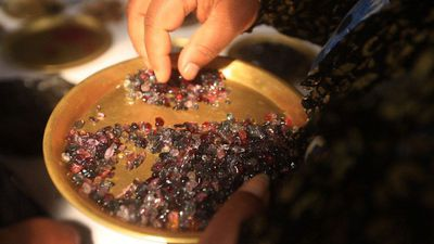 Ruby rush: Myanmar gem hunters exploit law change