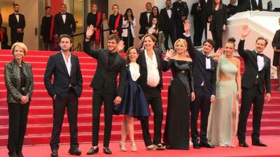 "Cannes red carpet for Justine Triet's ""Sibyl"""
