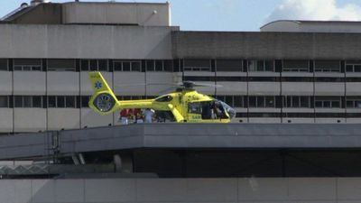 Seriously injured cyclist Chris Froome airlifted to hospital