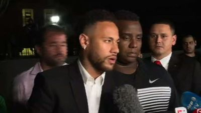 Brazil police question Neymar over alleged rape