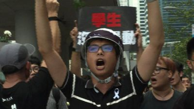 Hong Kong marchers out in force again