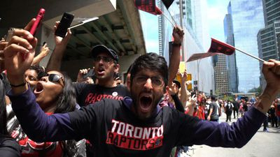 More than one million gather to celebrate Raptors NBA win