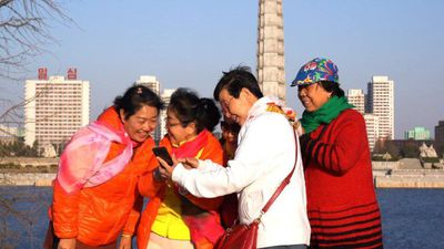 Pyongyang sees a rush of Chinese tourists