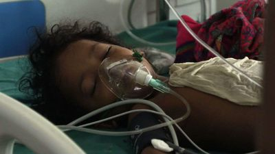 Chaos, tragedy and stench in Indian 'brain fever' outbreak