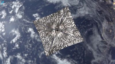 LightSail 2: a solar sail in space