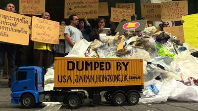 Thai campaigners urge ASEAN leaders to halt garbage import