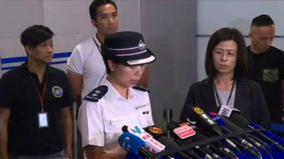 HK police appeal for protest crowds to disperse