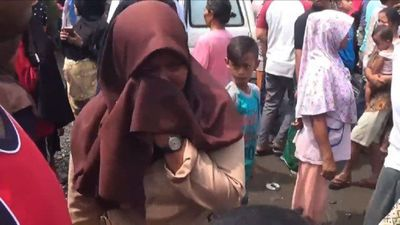 Deadly fire at Indonesian matchstick factory