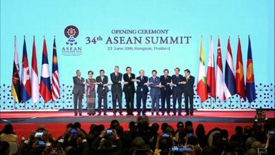 Southeast Asian leaders attend ASEAN summit