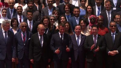 Macron holds Mediterranean summit in Marseille