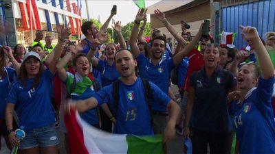 WC-2019: Italy fans react after Italy beat China 2-0