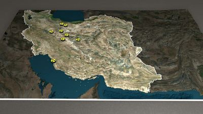 Nuclear facilities in Iran