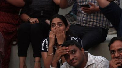 "Indian cricket fans ""heart-broken"" after shock World Cup exit"
