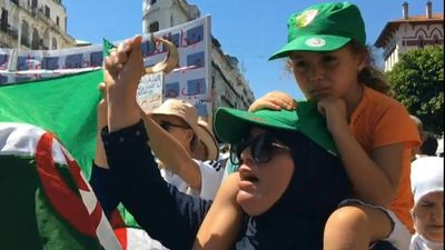 26th consecutive Friday of protests against the Algerian regime