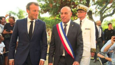 Macron attends commemoration ceremony in Bormes-les-Mimosas