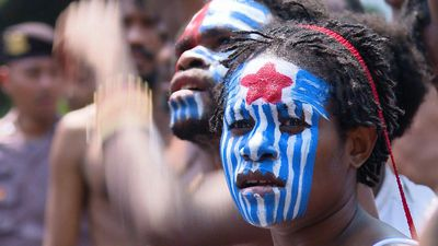 Hundreds demonstrate for Papuan independence in Indonesia