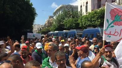 Algerians protest for the 27th consecutive Friday