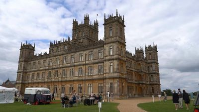 The real Downton Abbey prepares for movie spotlight